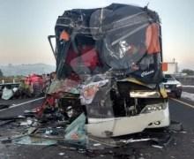 Choque de autobús deja muertos y heridos a peregrinos que se dirigían a la Basílica