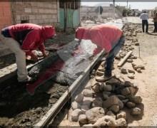 Realizan autoridades municipales entrega de obra en el Rodeo