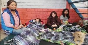 Familias evacuaron sus viviendas ante riesgo de inundación