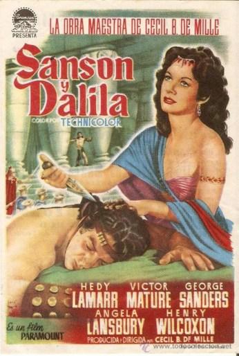 SANSON Y DALILA, 1949, Cecil B. DeMille