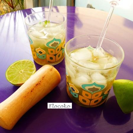 mojito - cocktail au rhum, citron vert et menthe - version virgin mojito