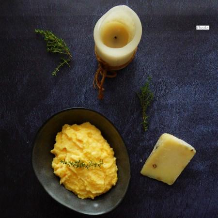 polenta au thym et parmesan