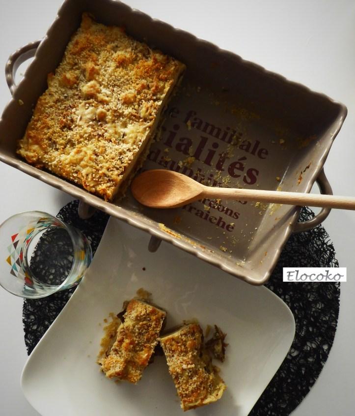 parmentier de canard aux cèpes et huile de truffe