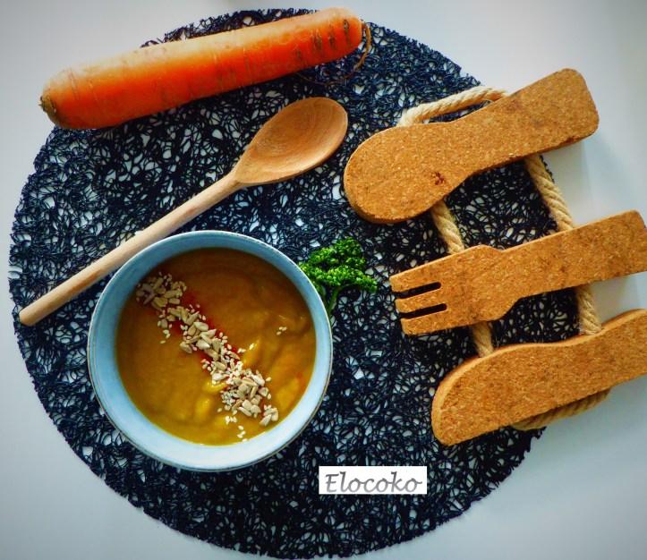 la soupe de mon enfance : poireau, carotte et pomme de terre