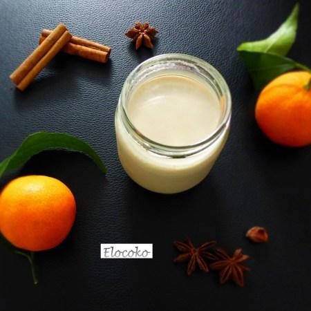 yaourts oranges et épices