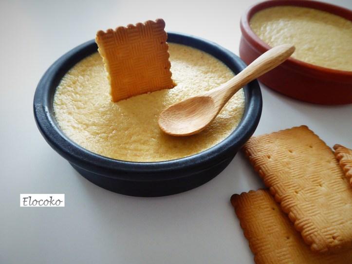 Crèmes dessert aux biscuits thé de Lu
