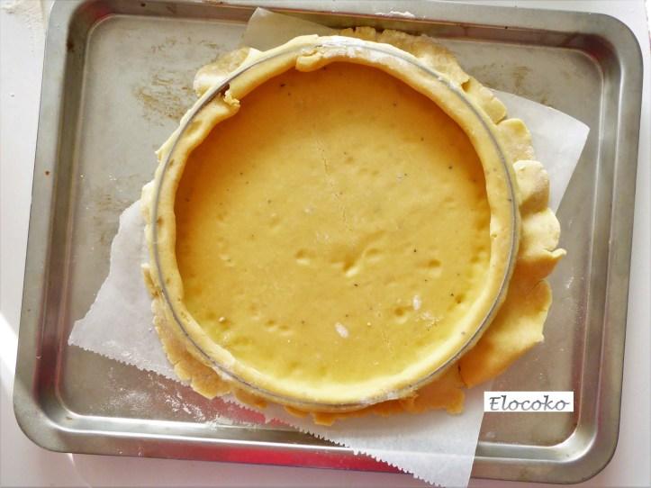 Pâte sucrée 11 : foncer la pâte 2