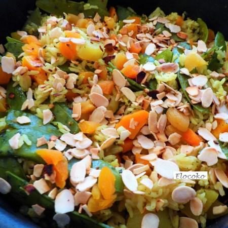 Biriani de légumes (Inde)