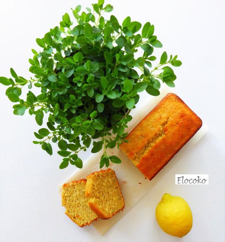 cake pavot citron