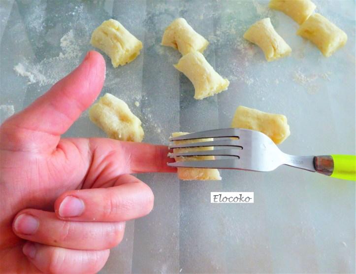 gnocchi 5 : formation des gnocchis