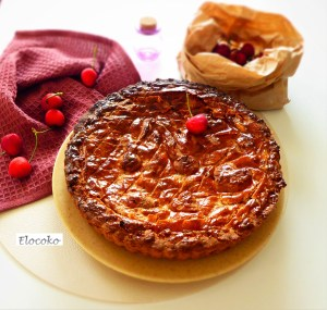 Gâteau basque (à la cerise)