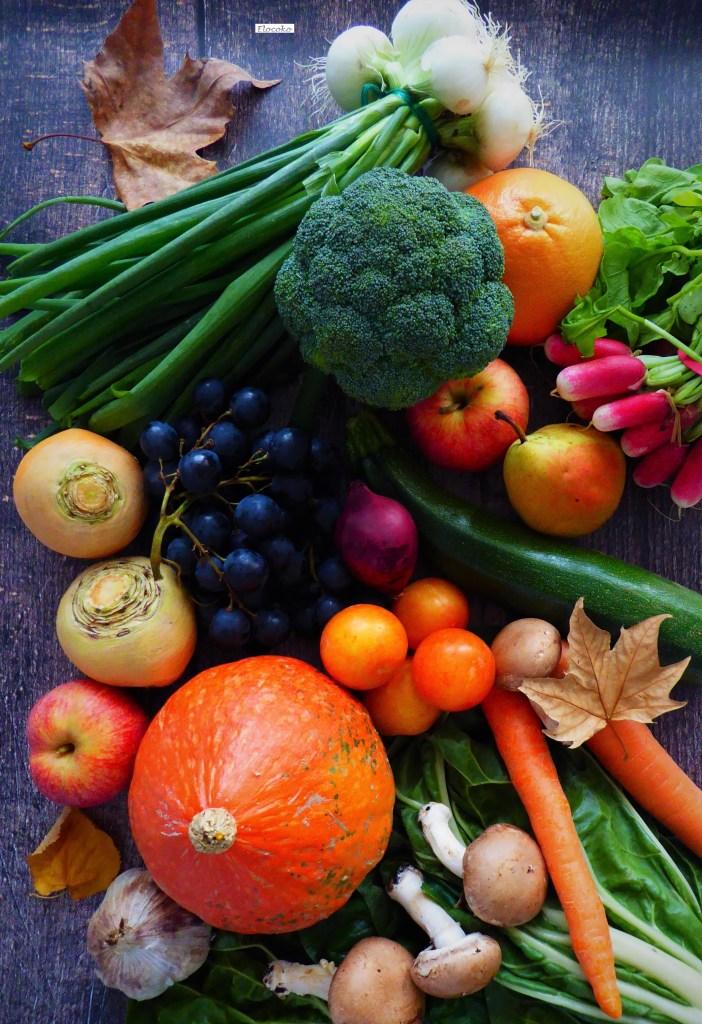 fruits et légumes d'automne