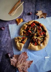 tarte rustique aux légumes d'automne b
