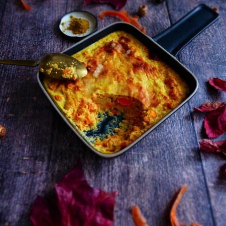 flan de carotte au curry