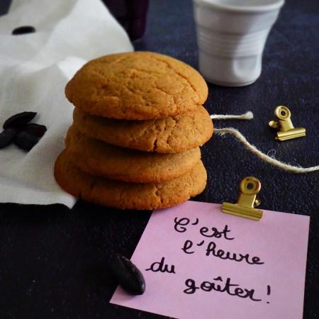 biscuits moelleux à la fève de tonka et fleur de sel