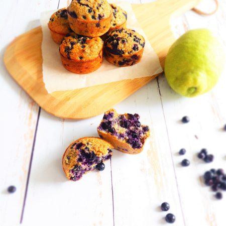 muffins myrtilles -coco-citron pavot