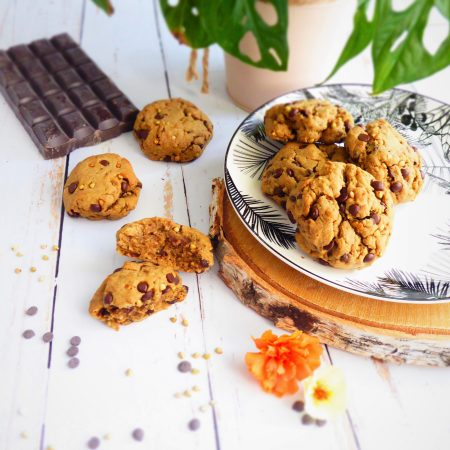 cookies chocolat sarrasin fleur de sel