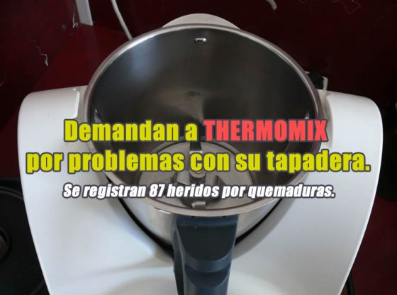 thermomix tapadera defectuosa