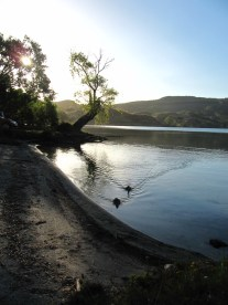 un autre camping super sympa au bord de l'eau