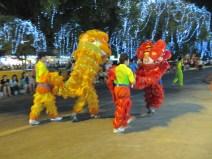 Et le soir, nouvel an Chinois