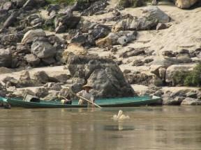 Pêche sur le Mékong