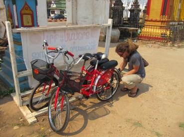 Visite de la ville en vélo