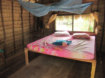 Et notre lit douillet!