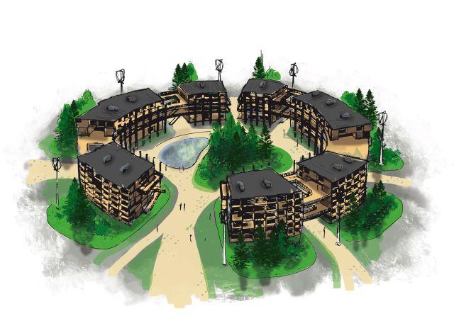 Illustration du Village éco-responsable