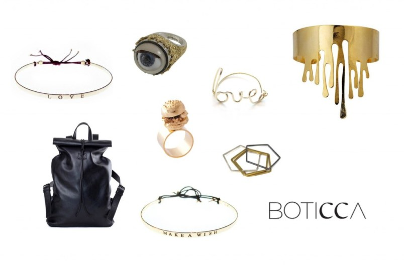 Selection shopping Boticca
