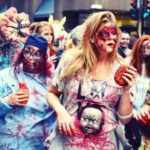 elodielepape graphiste webdesigner marche des zombies