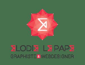 logo elodie le pape graphiste webdesigner montréal