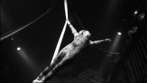 Tissu aérien, Danse mon Ange, David Ban et Elodie Lobjois