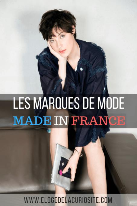 Voici ma sélection de marques de mode femme, mode homme et mode enfant fabriquées en France ! On aime promouvoir les marques françaises non ? :) Bonus, je vous indique les marques made in France éthiques et écologiques ! #madeinfrance #mode #modefemme #blogmode