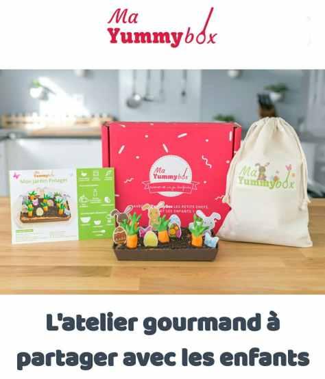 Yummy box ateliers cuisine enfants
