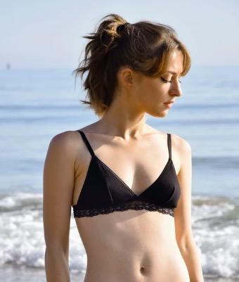 soutien gorge et culotte biologique lingerie non toxique écologique éthique olly