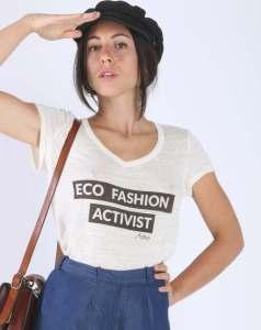 Aatise, la mode éthique écologique et durable made in France ! eco fashion activist t-shirt à texte