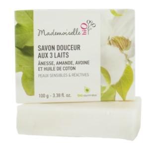 savon saponifié à froid au lait d'anesse