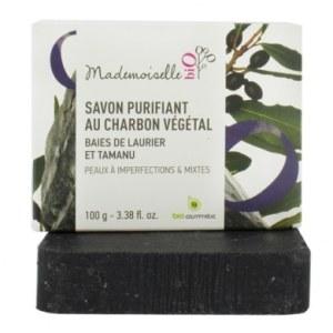 savon saponifié à froid bio au charbon végétal