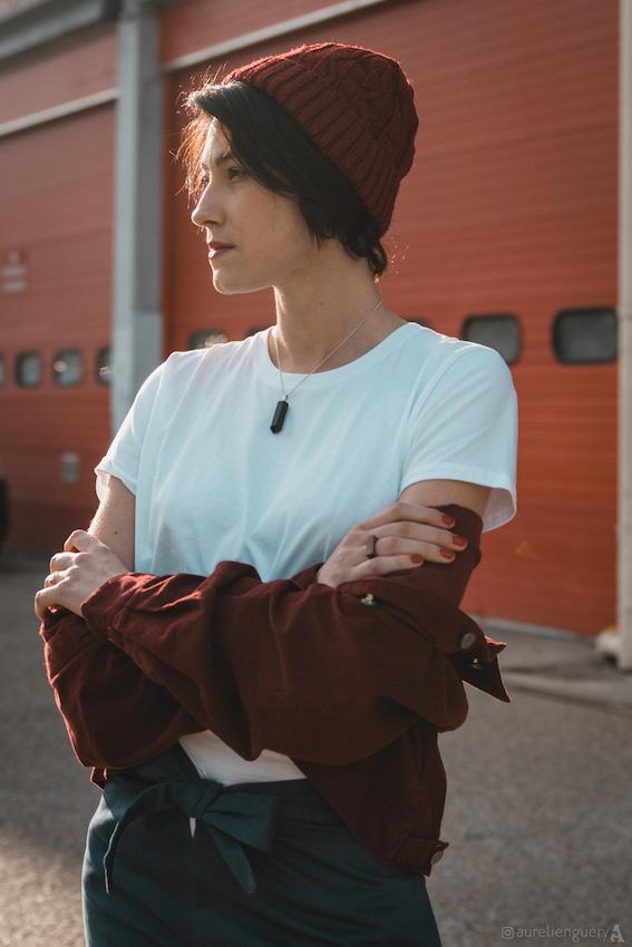 Ondine X Kabanes = un nouveau look urban streetwear 100% mode écologique et mode éthique ! Kabanes, c'est la nouvelle boutique de mode responsable où trouver des vêtements biologiques et équitables, des accessoires éco-responsables et vegan... L'avenir de la mode est là ! J'ai composé un look boyish spécialement pour cette collaboration