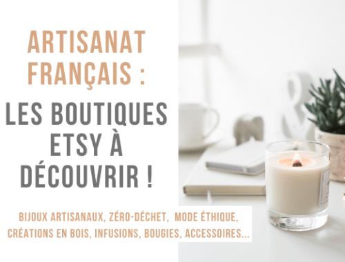 meilleures boutiques etsy idée cadeau artisanal made in france écologique zéro déchet