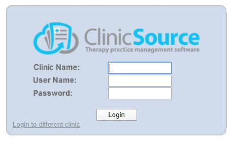 Clinic Portal Login