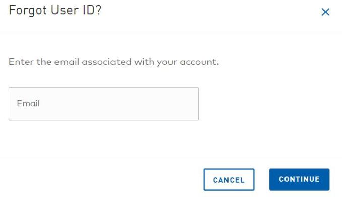 GM Financial MyAccount User Id