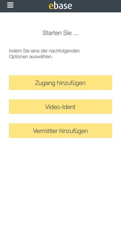 Ebase mobil login