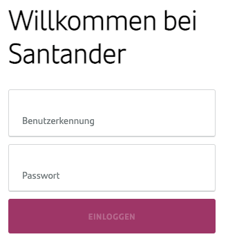 Santander Consumer Bank Login