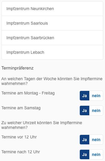 Impfen Saarland
