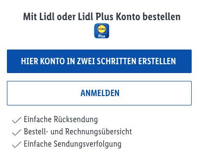 Lidl Connect Lidl Plus Bestellen aufladen