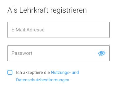 Bettermarks Registrieren