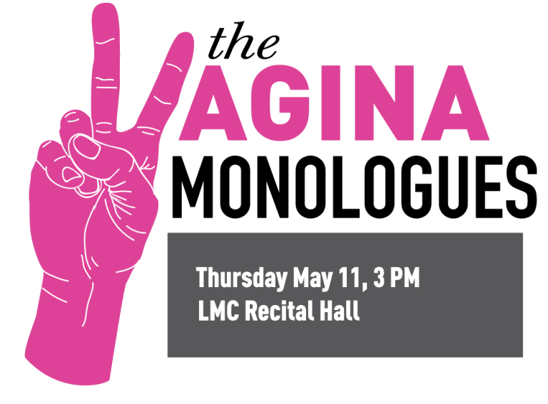 Vagina Monologues Thursday May 11