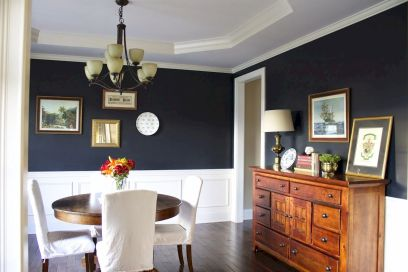 50+ Wall Décor Ideas for 2018 Dining Room Trend (6)