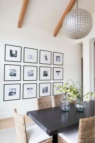 50+ Wall Décor Ideas for 2018 Dining Room Trend (69)